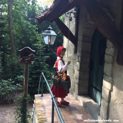 Chapeuzinho vermelho - Efteling